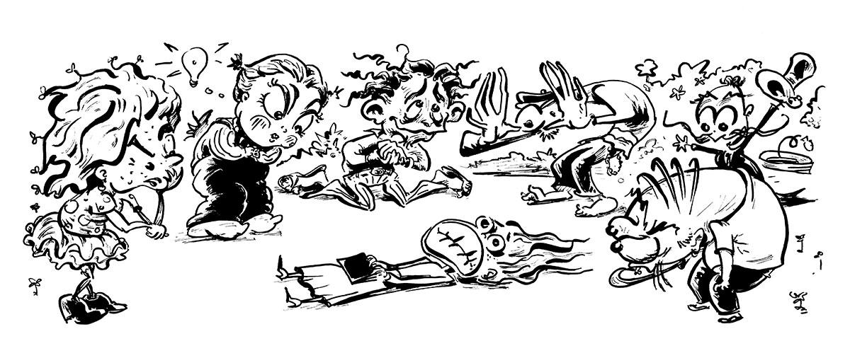 T-Motley Illustration Number 07