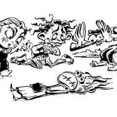 "Spot Illustration from ""The One Marvelous Thing"" by Rikki Ducornet"