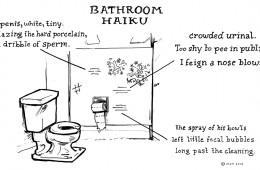 Bathroom Haiku