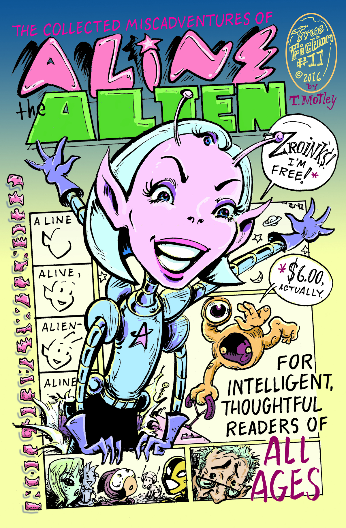 Aline the Alien collection cover
