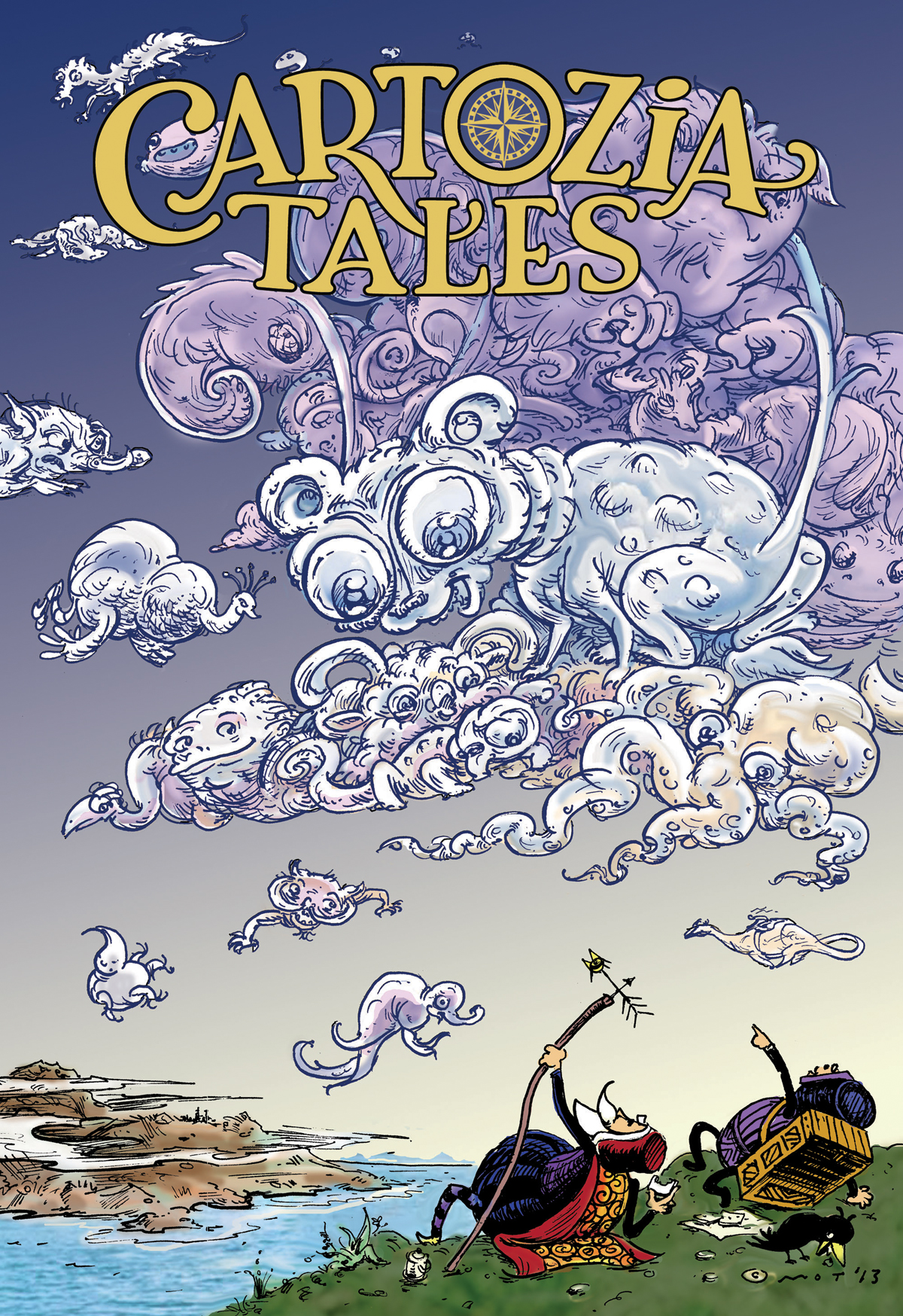 Cartozia Tales back cover & promo