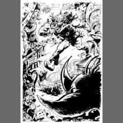 "Conan Doyle, Barbarian Detective, from ""Cartozia Tales"""