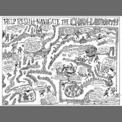 """center spread maze from """"Cartozia Tales"""""""