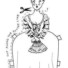 "Marie Antoinette, from ""French Revolutions for Beginners"""