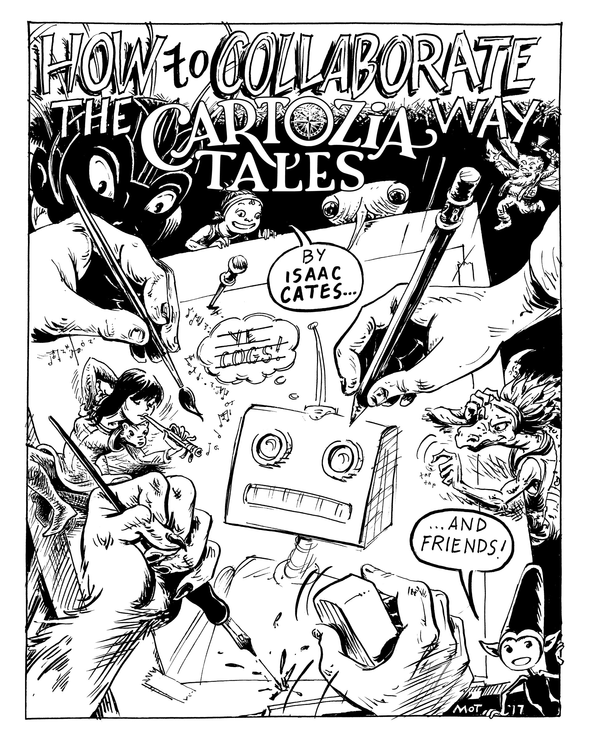Cartozia Minicomic Cover