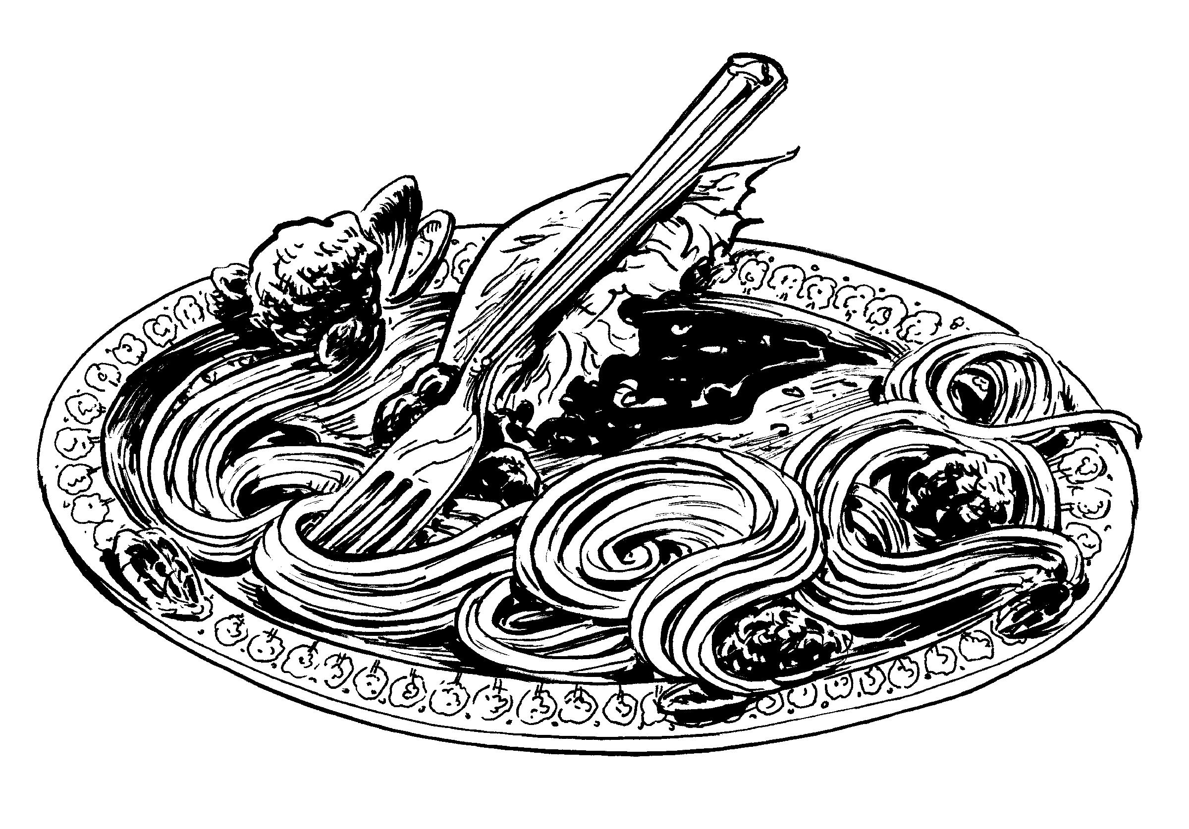 """spot illustration for """"The One Marvelous Thing"""" by Rikki Ducornet"""