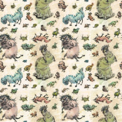 Monster Pattern for Society 6